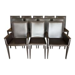 Chair Design Within Reach Meditation Ikea Bottega Leather Dining Chairs Set Of 12 Original Price 11 880 00