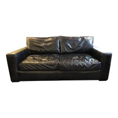 Restoring Leather Sofa Daybed With Trundle Restoration Hardware Maxwell Home The Honoroak