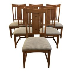 Craftsman Style Chairs Black And White Styling Chair Dining Set Of Six Design Plus Gallery