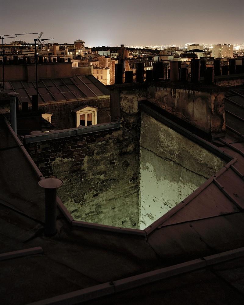 Over Paris by Alain Cornu  Design