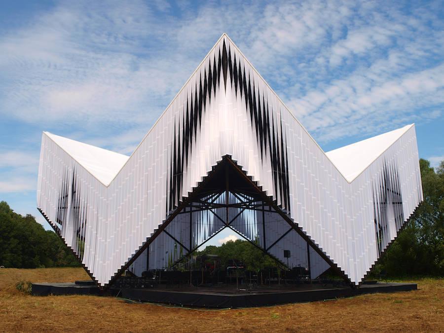 Nature Concert Hall in Latvia by Didzis Jaunzems Architecture  Design