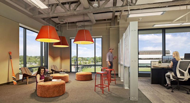 TripAdvisor headquarters in Needham Massachusetts  Design