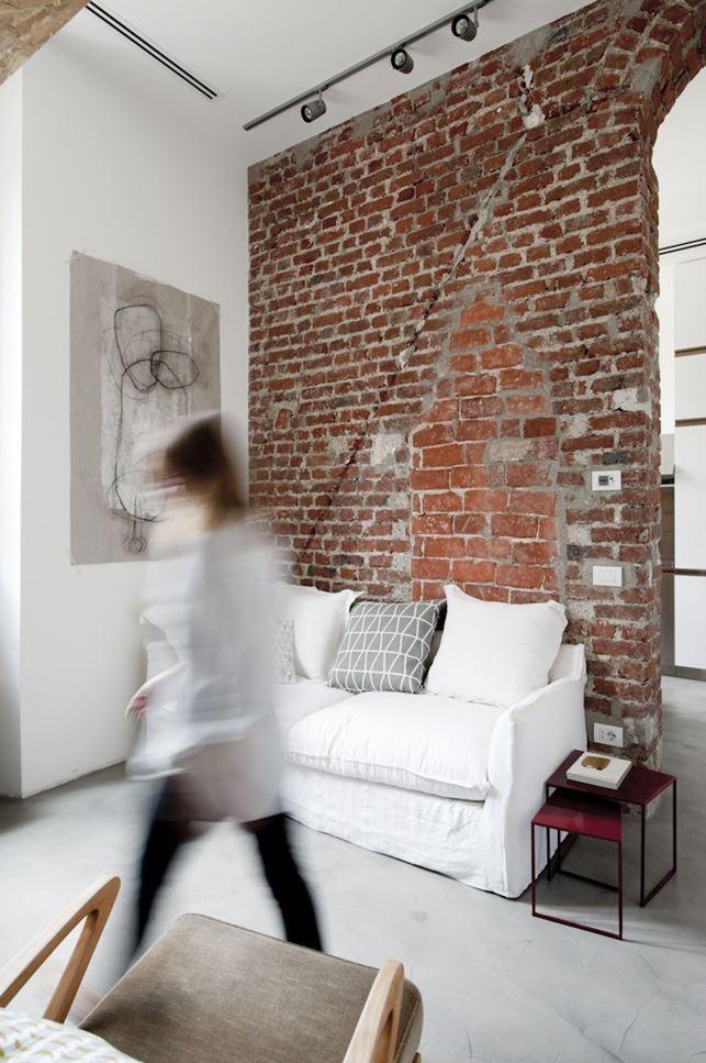 30 sqm Loft in Milano  Design