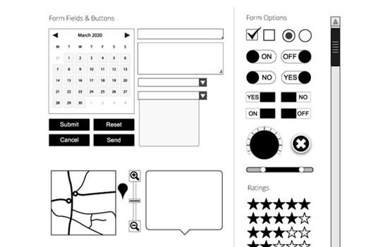 30 Free Web Page Wireframe Kits
