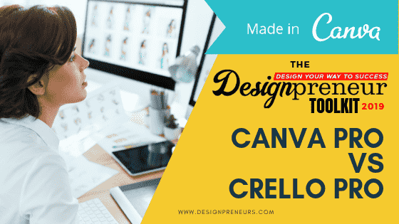 designpreneurs toolkit canva vs crello