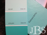 The [almost] Perfect Shade of Tiffany