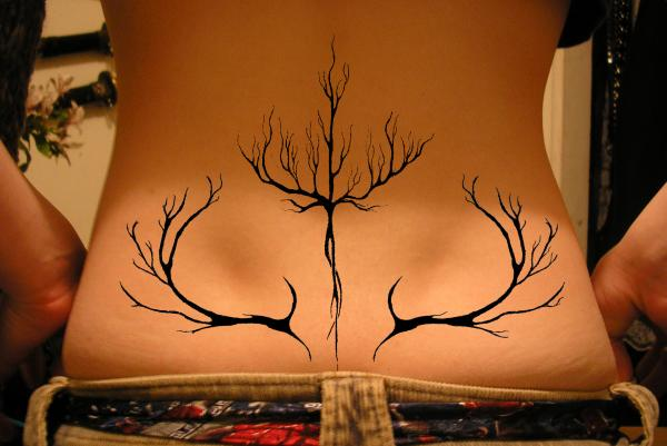 Meaningful Lower Back Tattoos For Females