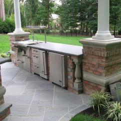 Outside Kitchen Designs Dog Proof Trash Can 40 Fantastic Outdoor Examples Slodive Design Ideas