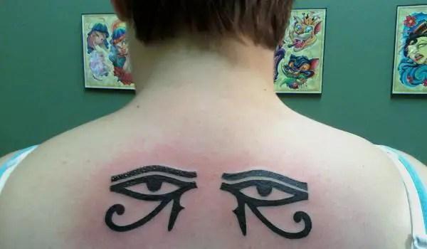 Horus Wings Tattoo