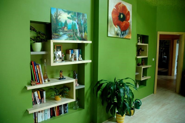 green paint colours for living rooms modern room black leather sofa color ideas 30 excellent collections design press indoors nature