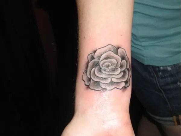 Cute Little Rose Tattoos