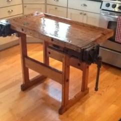 Kitchen Workbench Cabinet Door Moulding 12 Amazing Repurposed Diy Island Ideas 9