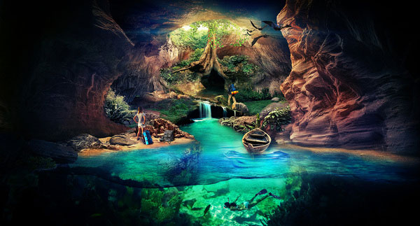 Cave Wallpaper Brazilian Designer Inspiration
