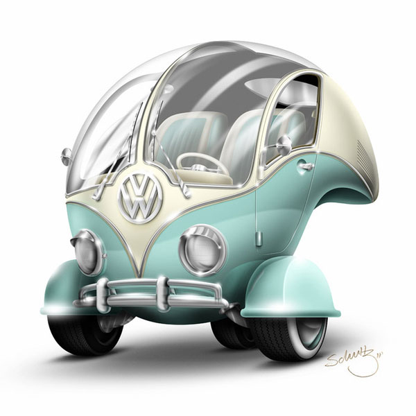 Volkswagen Bubble Brazilian Designer Inspiration