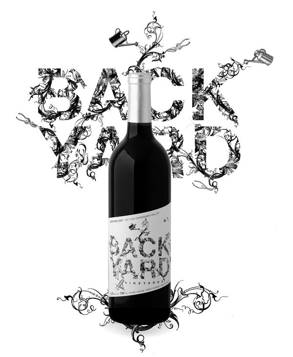 Backyard wine packaging