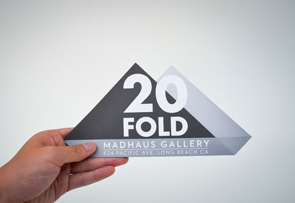 20 FOLD Flyer Print Design Inspiration