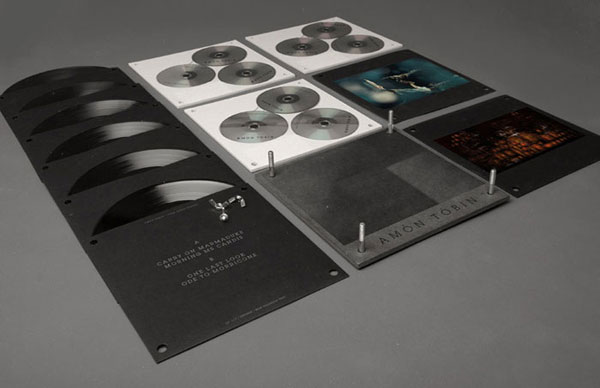 Amon Tobin Package Design 2