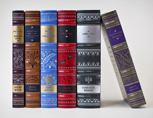 Barnes & Noble Classics Titles Package Design