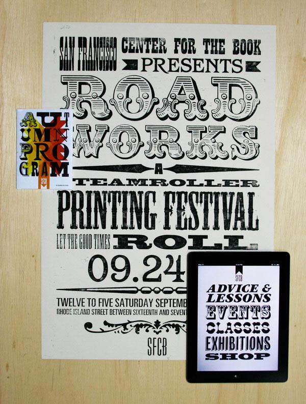 San Francisco Center for the Book Print Design Inspiration