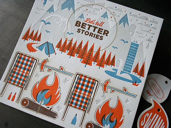 Swink Inc. Print Design Inspiration