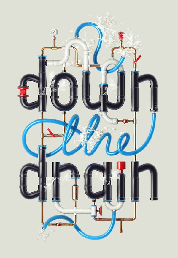 Down the Drain Design Inspiration in Romania