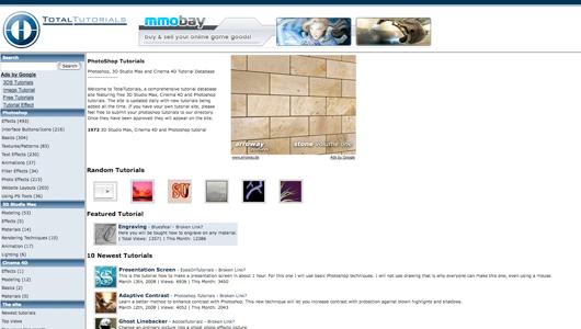 total tutorials screenshot