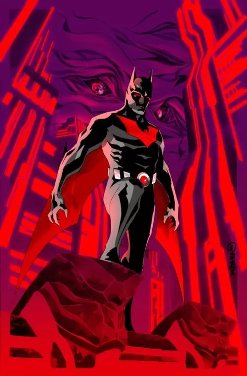 Batman Beyond 1 Cover by duss005