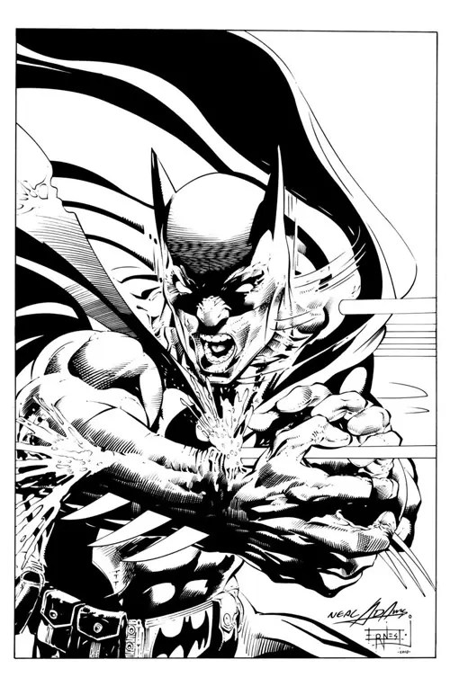 Batman Odyssey Ink by ernestj23