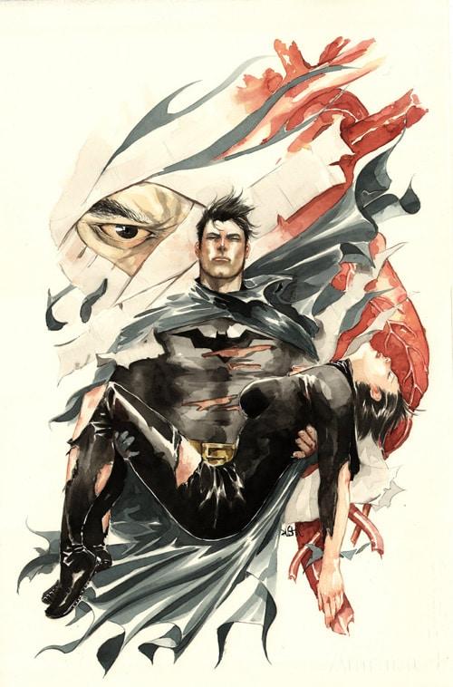 Batman: Detective 850 cover by duss005
