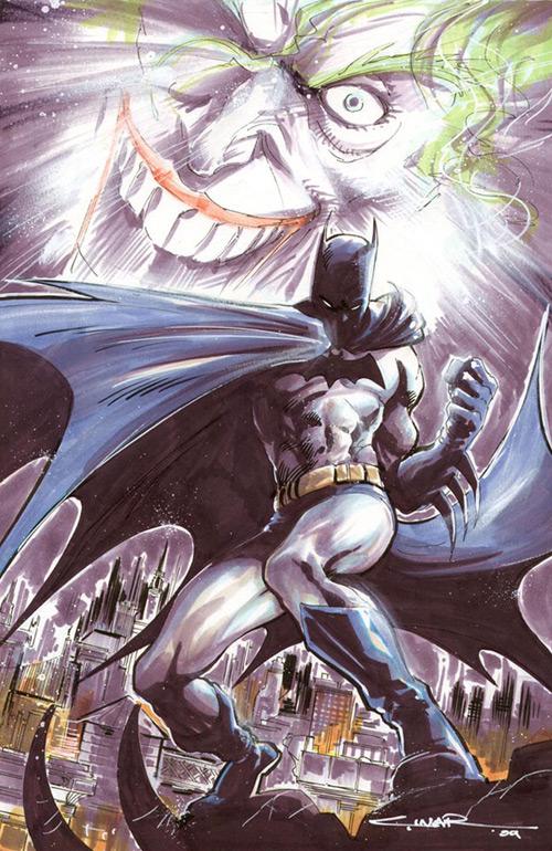 Batman and Joker by Cinar