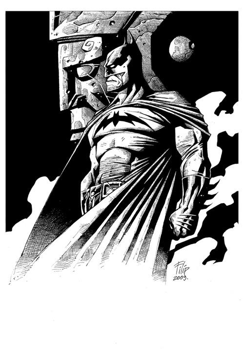 Batman by SpineBender