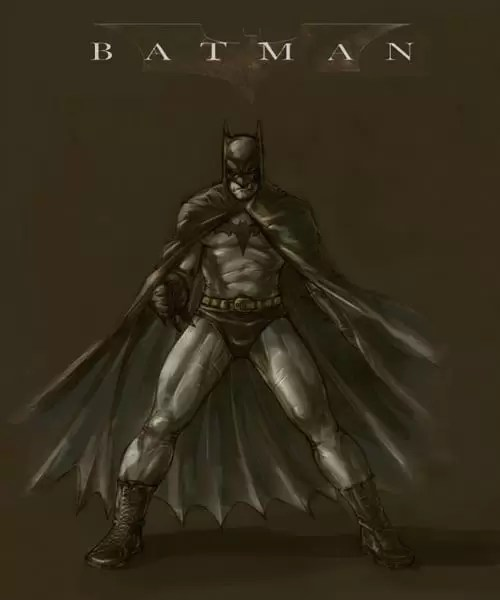 Batman by dcjosh