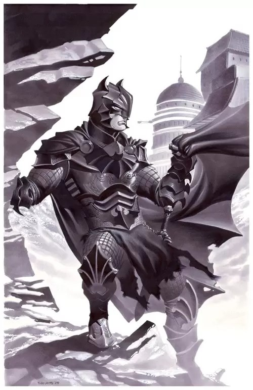 Medieval Fantasy Batman by chriss2d