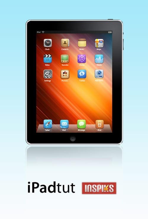 Create A Sleek Looking iPad in Photoshop | INSPIKS