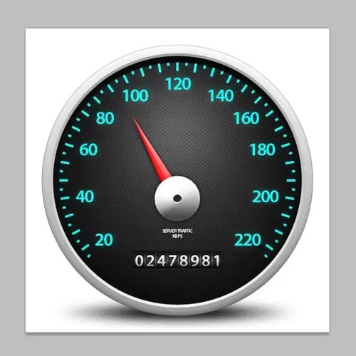 How to Design a Speedometer Icon in Photoshop (Part 1)