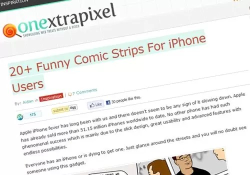 20+ Funny Comic Strips For iPhone Users