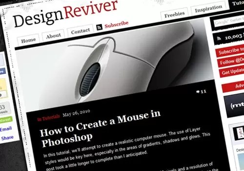 How to Create a Mouse in Photoshop