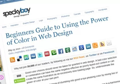 Beginners Guide to Using the Power of Color in Web Design