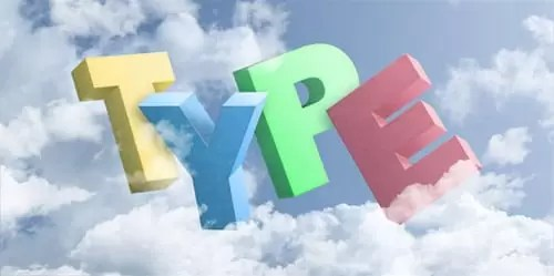 3D Text In Clouds Tutorial