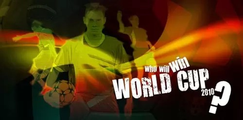 Create an Abstract Wallpaper for World Cup 2010