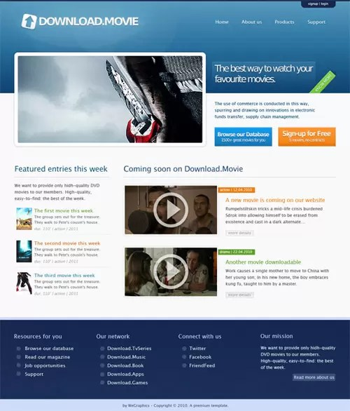 How to create a professional and clean web layout (with  PSD-to-HTML conversion)
