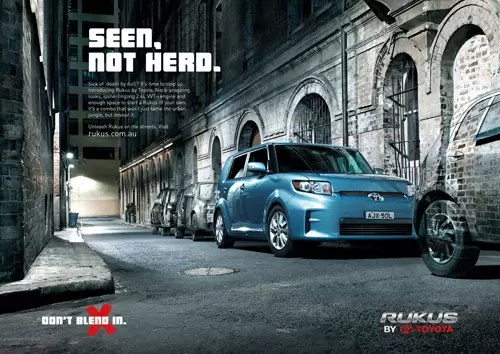 Car ads 40 Clever Automobile Advertisements  designrfixcom