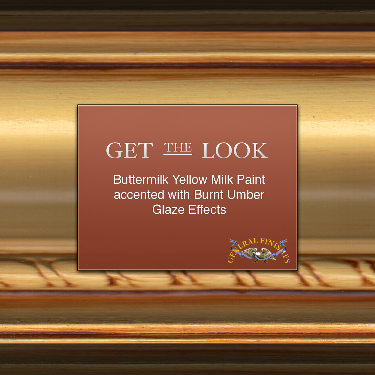 Get The Look Buttermilk Yellow Milk Paint with Burnt
