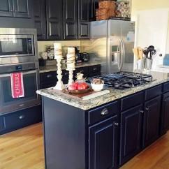 Orange Kitchen Cabinets Tables Sets Lamp Black | General Finishes Design Center