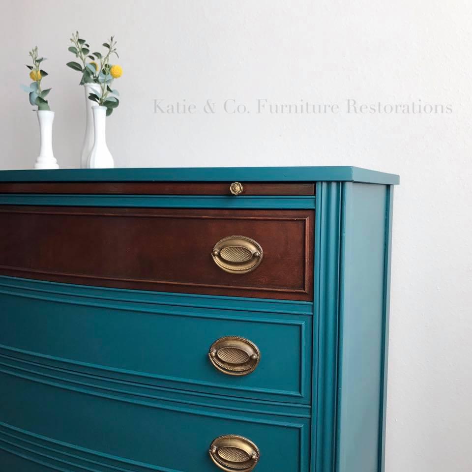 Beautiful Teal Dresser | General Finishes Design Center