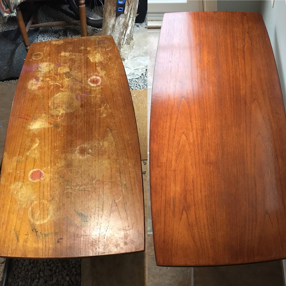 Play Table Refinish With Candlelite Gel Stain General Finishes Design Center