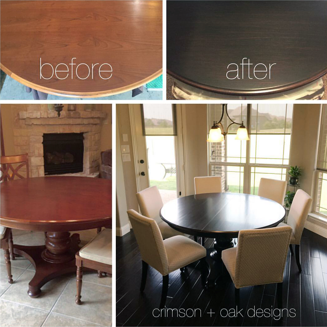 kitchen table high top large mats java gel dining set | general finishes design center