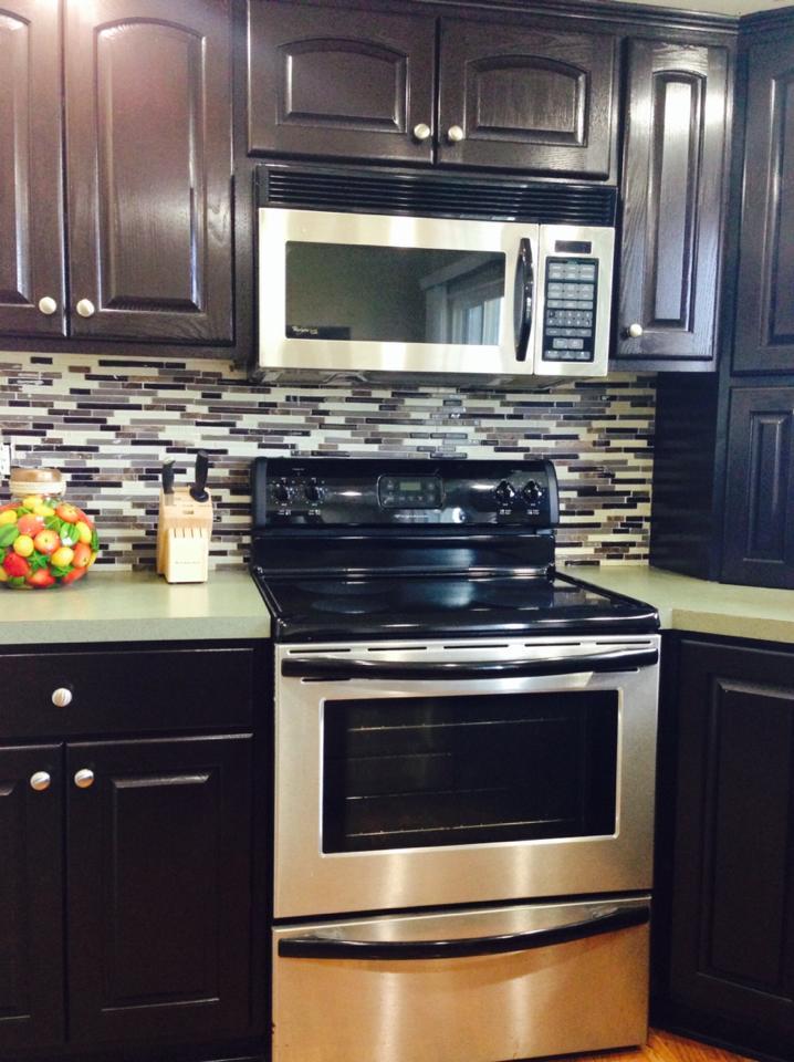 Java Gel Stain Kitchen Transformation General Finishes Design Center