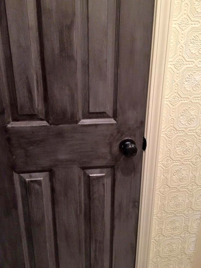 Rustic Barn Wood Door Makeover  General Finishes Design
