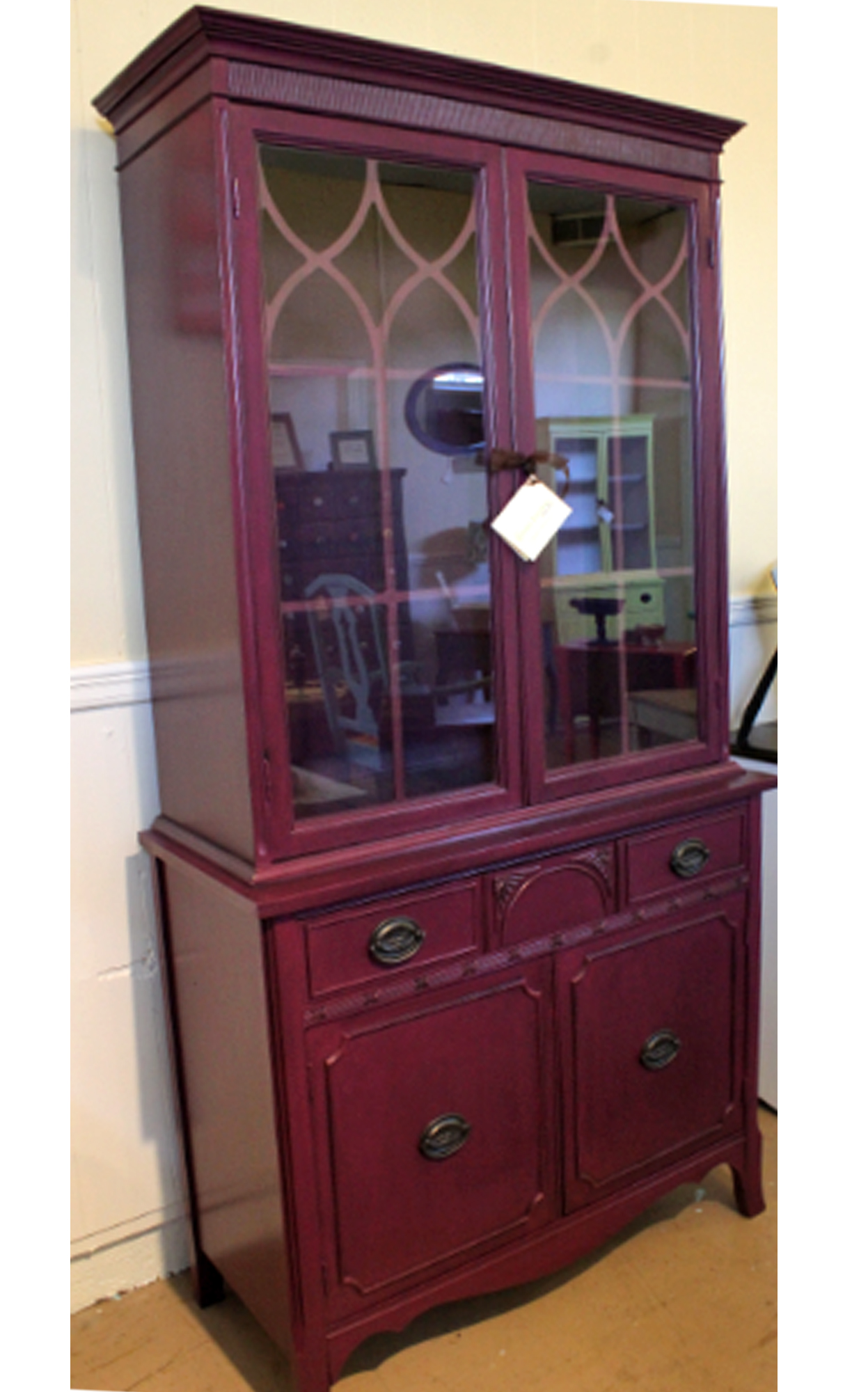 kitchen cabinet stain islands with stools elegant evening plum | general finishes design center